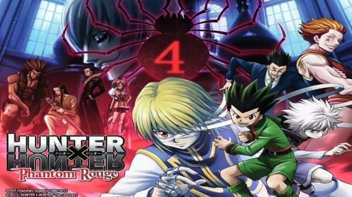 Hunter x Hunter Movie 1: Phantom Rouge Subtitle Indonesia