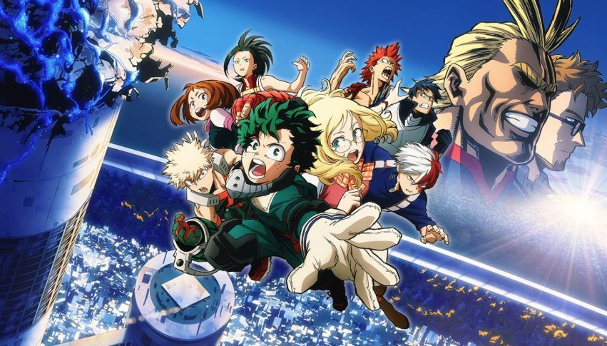 Boku no Hero Academia Movie Subtitle Indonesia
