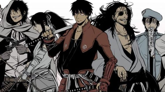 Drifters Subtitle Indonesia